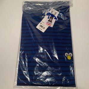 KAWS x Uniqlo Striped Tee ( T-shirt ) BFF